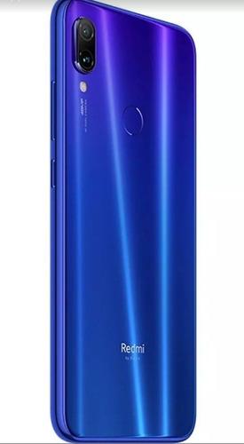 smartphone xiaomi redmi note 7 azul 64 gb memória interna 4