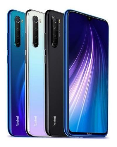 smartphone xiaomi redmi note 8 , tela 6.3 , 4gb+64gb nf