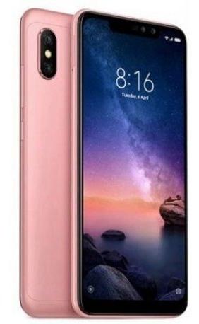 smartphone xiaomi redmi note pro 6 4gb/64gb lte dual sim 6.2