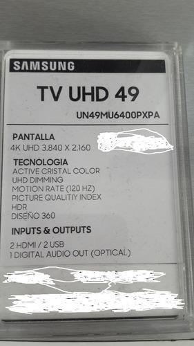 smartv samsung 49  ultra hd (3840) hdmi usb un40mu6400pxpa