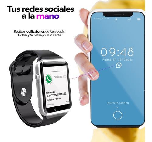 smartwatch a1 bluetooth 4.0 llamadas sms - memoria y sim