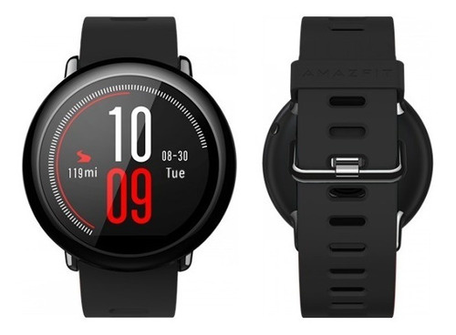 smartwatch amazfit pace internacional + 2 micas + correa