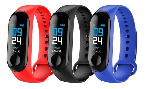smartwatch band pulsera inteligente ritmo cardiaco podometro