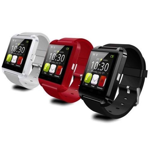 smartwatch bluetooth reloj inteligente u8 para android
