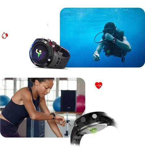 smartwatch deportivo gps nadar brújula, medidor cardiaco
