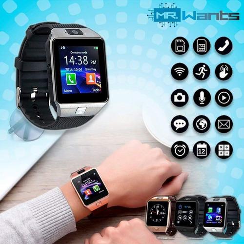 smartwatch dz09 micro sd chip camara