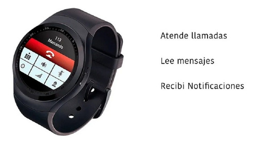 smartwatch fitness level up zed 2 reloj inteligente android