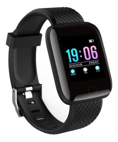 smartwatch fitness ritmo cardiaco presion arterial podometro