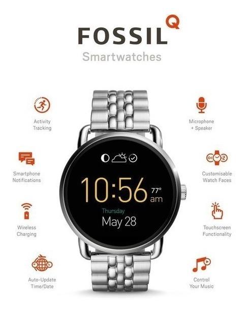 Smartwatch Fossil Ftw2111 Q wander Agente Oficial Unitime