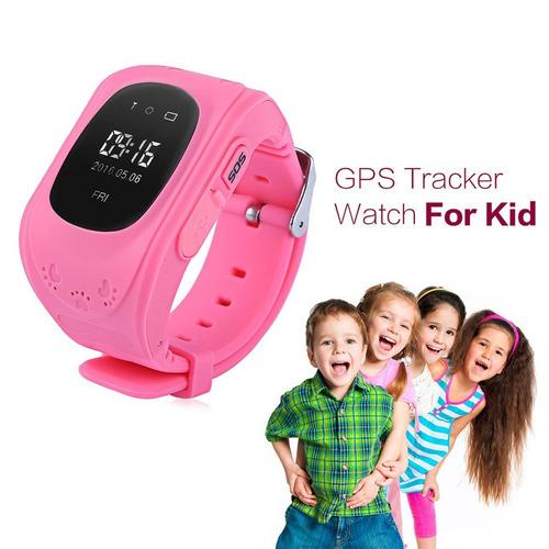 smartwatch gps niños sos llamadas reloj inteligente