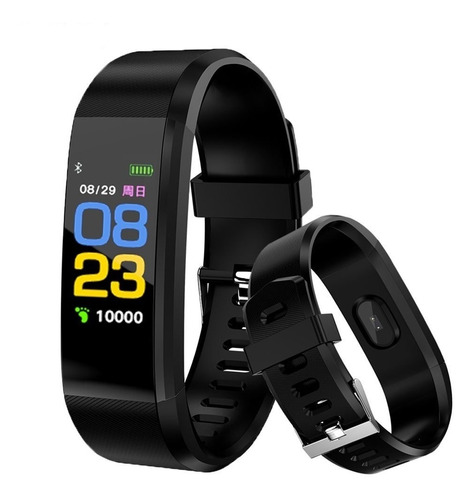 smartwatch id115 brazalete compatible con android-iphone