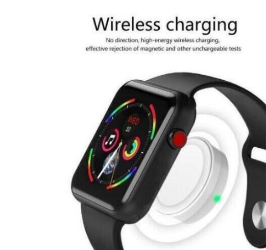 f24455e10 Smartwatch Iwo7 Series 4 Iphone Samsung Apple Watch Android - R  449 ...