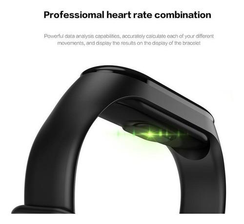 smartwatch m3 ritmo cardiaco podometro presion sport