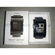 Pebble Smart Watch Reloj Para Iphone Y Android Usado!