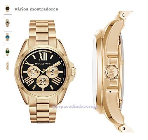 6f3d0a5608105 Smartwatch Michael Kors Access Gold - Encomenda - R  1.560,00 em Mercado  Livre
