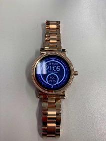 61d5bb346 Relogio Michael Kor Smartwatch Rose - Relógio Michael Kors Feminino no  Mercado Livre Brasil