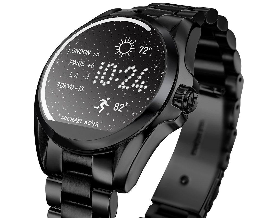 d318fa89bc588 smartwatch michael kors preto aço mkt5005 mk access relogio. Carregando  zoom.