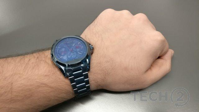 f3cc9158bac0e Smartwatch Michael Kors Preto Aço Mkt5005 Mk Access Relogio - R ...