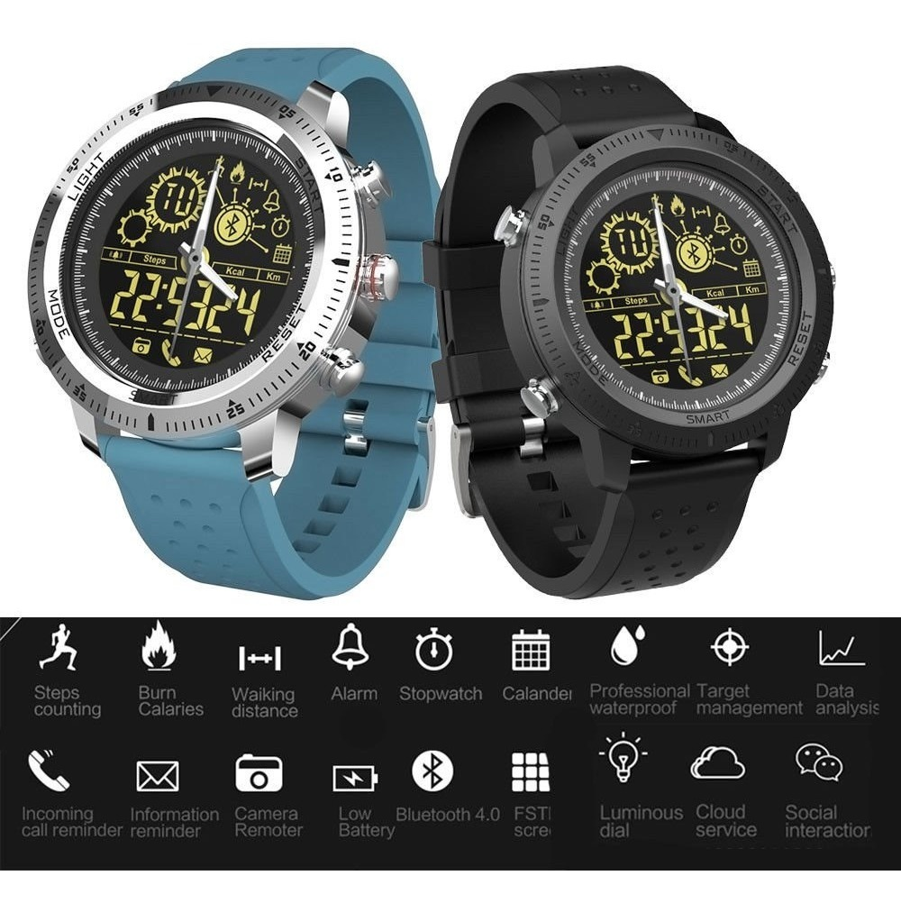 De Física Smartwatch Sport Rastreador Military Actividad UMVSzp