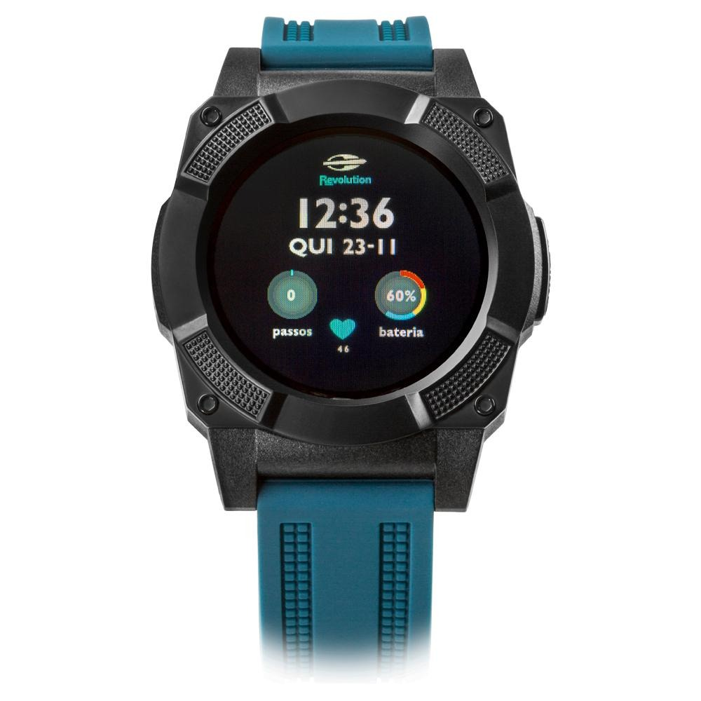 55124cff758a1 smartwatch mormaii masculino revolution prata - mosraa 8c. Carregando zoom.