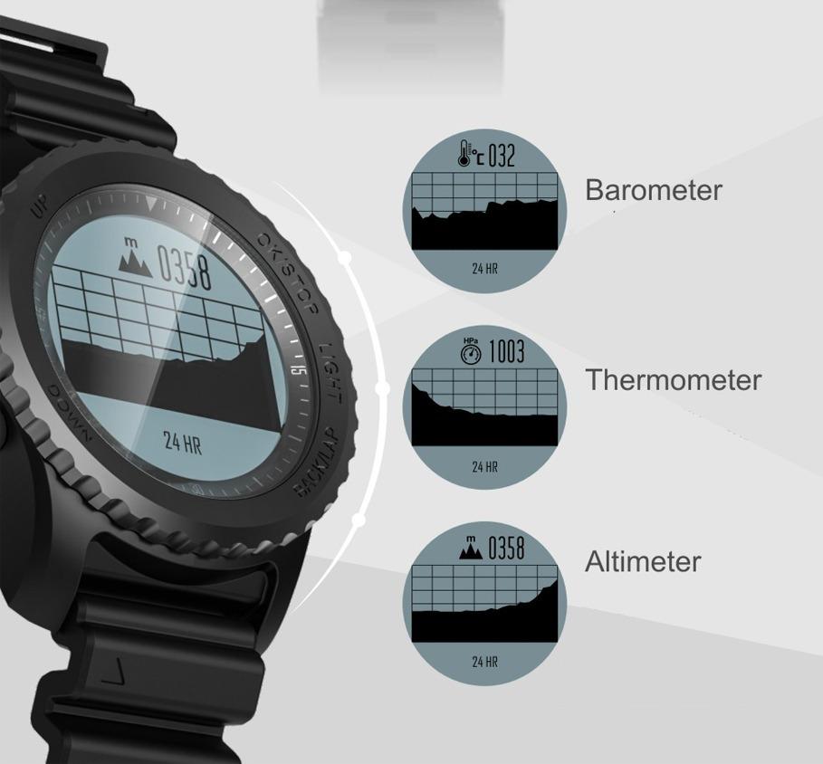 05c2b750ff00 smartwatch natación gps altímetro barometro ciclismo snorkel. Cargando zoom.