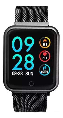 smartwatch p80 relógio inteligente band fitness touch