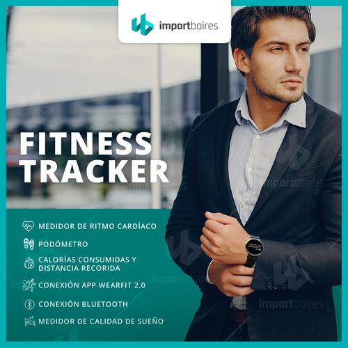 smartwatch podometro oxymetro calorias monitor cardiaco