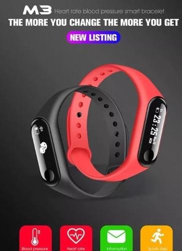 smartwatch pulsera inteligente ritmo cardiaco m3 smart t1546