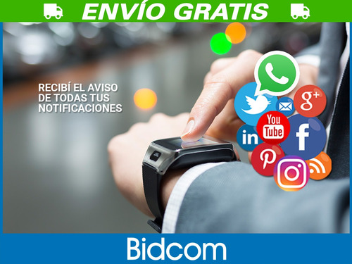smartwatch pulsera smartphone gadnic telefono liberado chip
