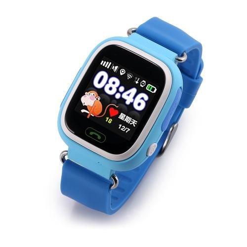 smartwatch q90 reloj de niños gps llamada sos espia