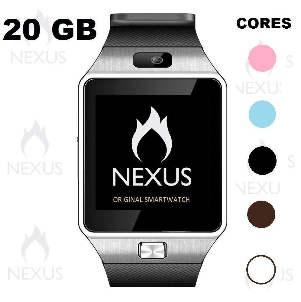 84ae23bd32c Smartwatch Relogio Wifi Bluetooth 4g Android Gear Chip Desbl