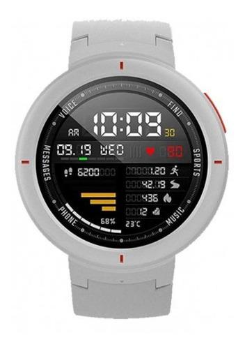 smartwatch relogio xiaomi amazfit verge a1811 global white