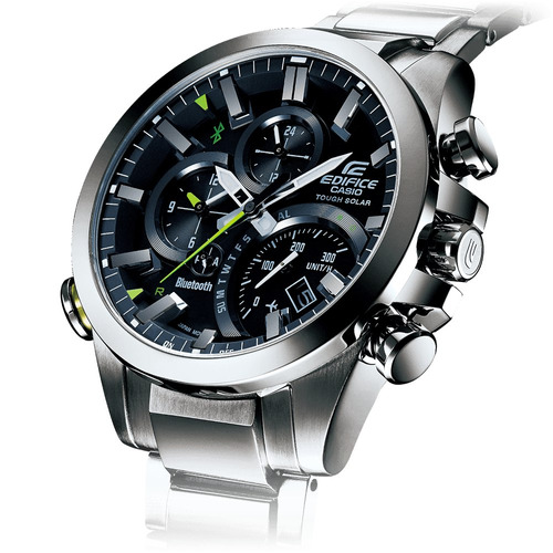 smartwatch reloj casio edifice eqb 501 bluetooth ios android