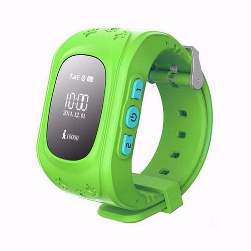 smartwatch reloj celular localizador gps niños kids sos