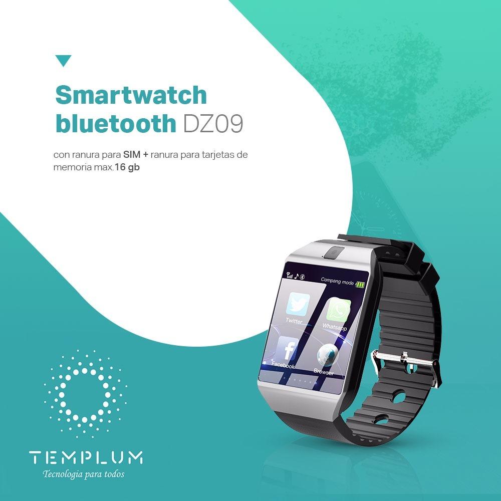 59a4b176329 smartwatch reloj inteligente bt dz09 chip/micro sd/camara. Cargando zoom.