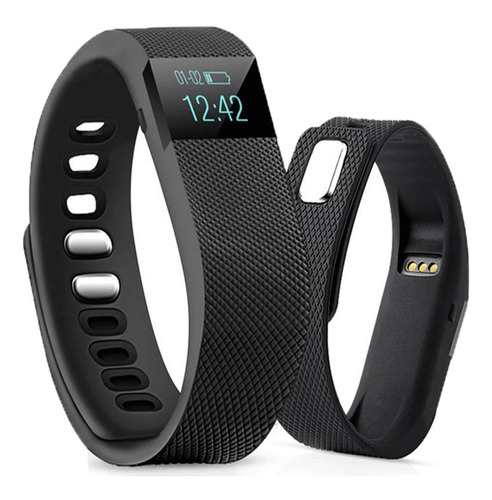 smartwatch reloj inteligente celular android apple iphone tw64 fit band deportes newvision