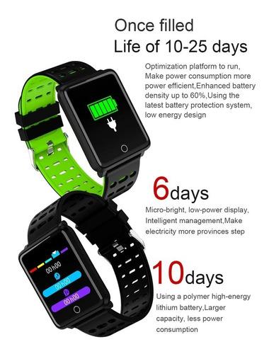smartwatch reloj inteligente ip67 presión ritmo