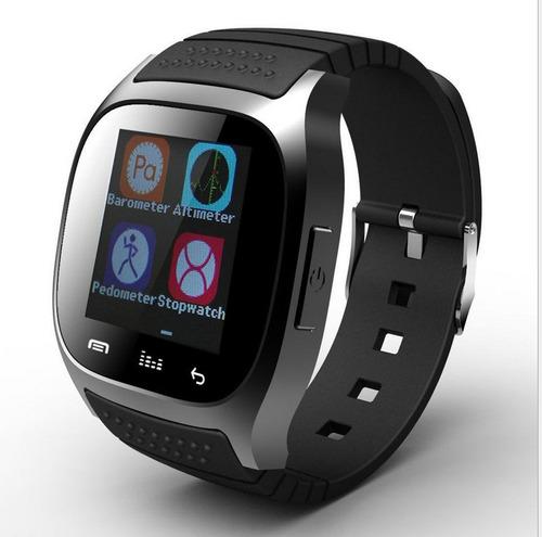 smartwatch reloj inteligente m26 android bluetooth