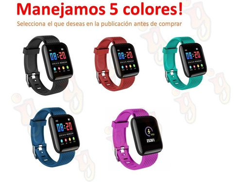 smartwatch reloj inteligente moderno apps notificaciones