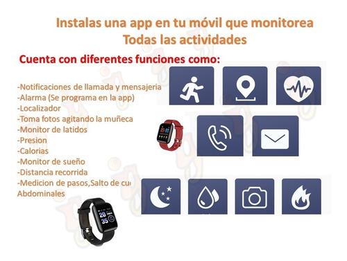 smartwatch reloj inteligente moderno apps notificaciones