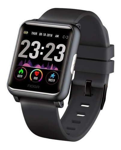 smartwatch reloj inteligente samsung android iphone noga ng-sw01 sumergible smart band bluetooth celular ritmo