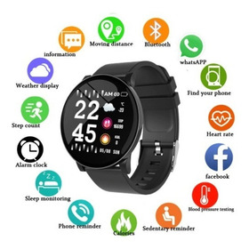 Smartwatch Reloj iPhone Samsung Xiaomi Huawei W8