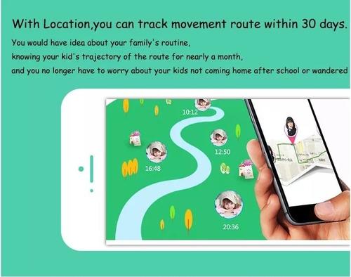 smartwatch reloj para niños q90 momo gps español original