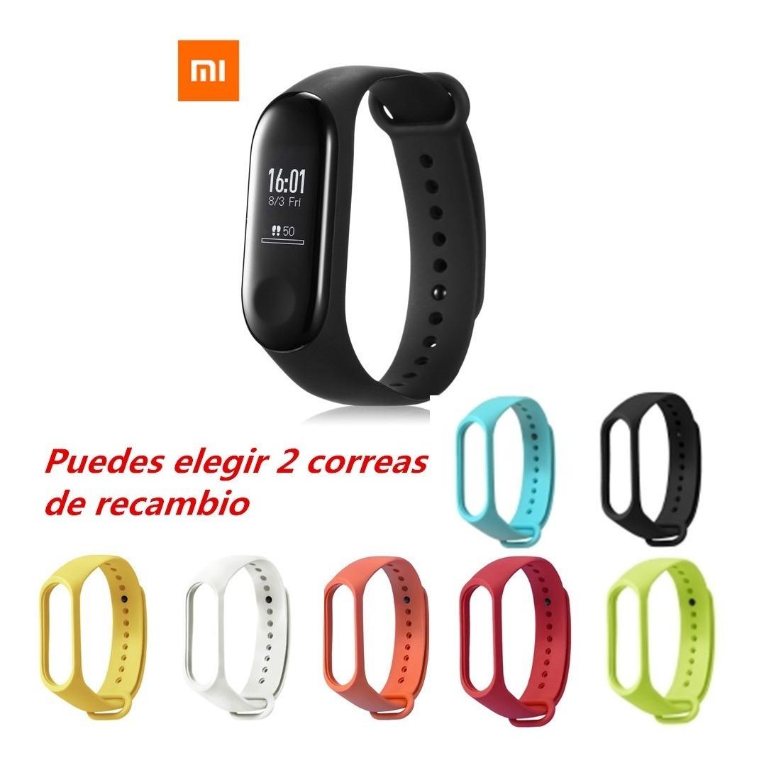 6447932de5d2 Smartwatch Reloj Xiaomi Mi Band 3 Bluetooth4.2 Ritmo Cardiac