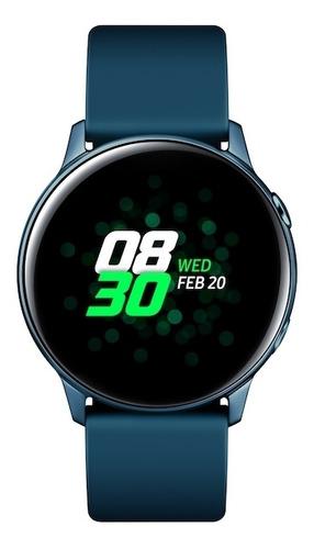 smartwatch samsung galaxy watch active (40mm), green