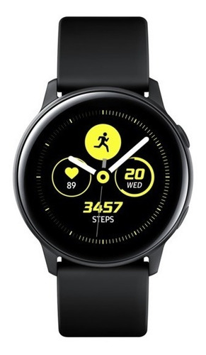 smartwatch samsung galaxy watch active black sm-r500nzkapeo