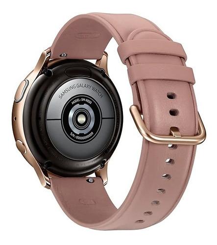 smartwatch samsung galaxy watch active2 acero inoxidable ros