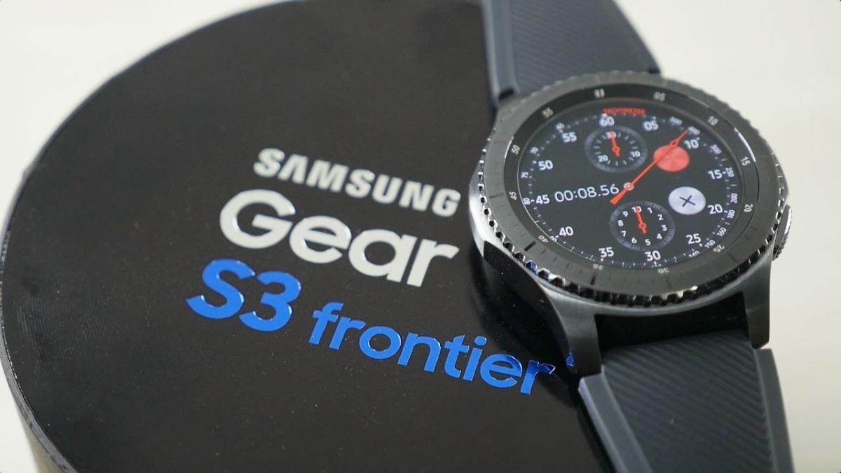Samsung Gear S3 Frontier La Meilleure Montre Gps: Smartwatch Samsung Gear S3 Frontier Reloj Envio Gratis