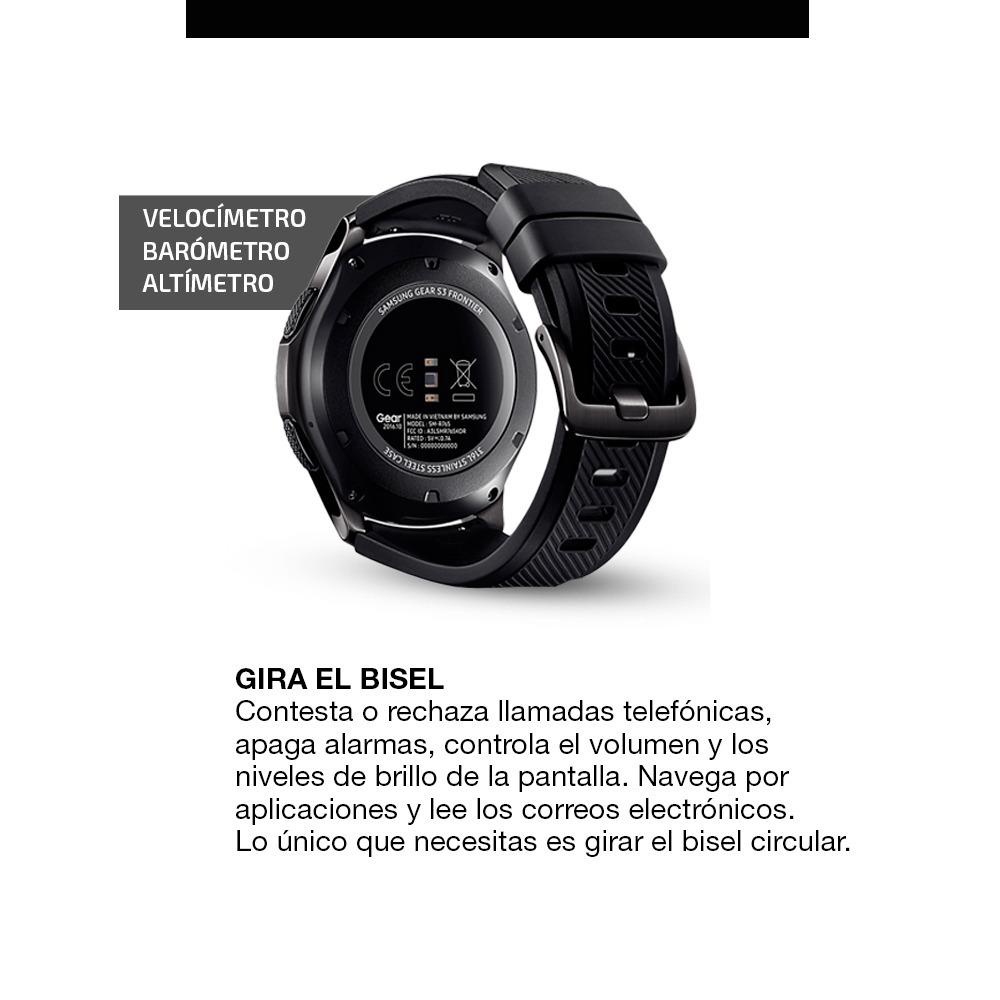 08ec94607 smartwatch samsung gear s3 frontier reloj inteligente pc. Cargando zoom.