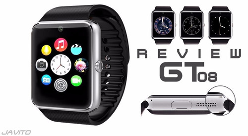 smartwatch sefton gt08 chip micro sd camara